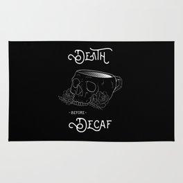 Death Before Decaf Rug