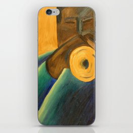 The Trumpet Player iPhone Skin