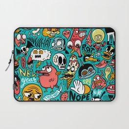 2019 New Year Pattern Laptop Sleeve