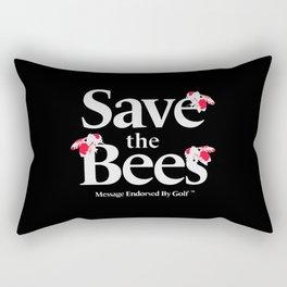 SAVE THE BEES - GOLF WANG Rectangular Pillow