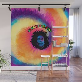 Good Vibes only, Marley vibes. Wall Mural
