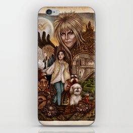 Labyrinth Tribute iPhone Skin