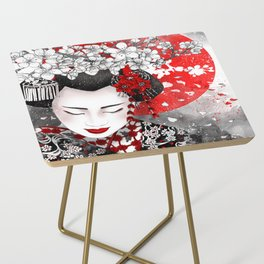silence is golden - Iwanu ga hana Side Table