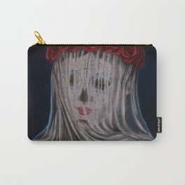 Day Of The Dead Veiled Bride Carry-All Pouch