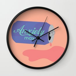 Anxiety Max Wall Clock