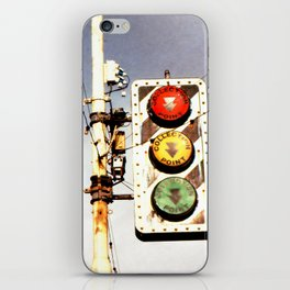 Collection Point iPhone Skin