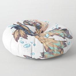 Merman Floor Pillow