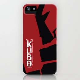 Kubo and the Two Strings - The Beetle Clan iPhone Case