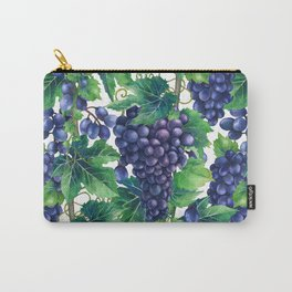 Watrercolor grapes Carry-All Pouch
