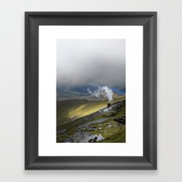 Snowdonia Mountain Railway Framed Art Print