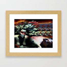 Color My Dream Framed Art Print