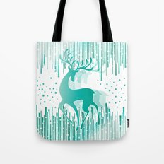 Dancing Deer Tote Bag