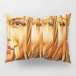 Golden Oranje Dutch Royalty Pillow Sham