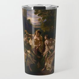 "1853 Classical Masterpiece ""Florinda"" by Franz Xaver Winterhalter Travel Mug"