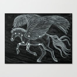 Pegasus Across the Northern Sky Canvas Print