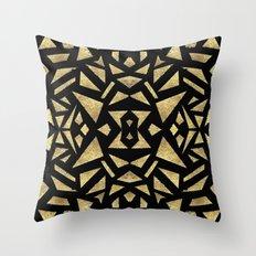 Ari's Gold Throw Pillow