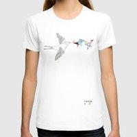 wesley bird T-shirts featuring bird by Belén Segarra