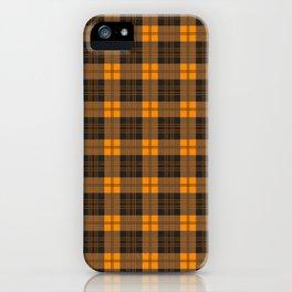 Scottish plaid 4 iPhone Case