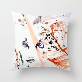 Tiger Lady Throw Pillow