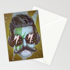Dude (green) Stationery Cards