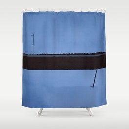Route Shower Curtain