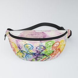 Skeleton Party Fanny Pack