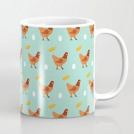 Chickens all around Coffee Mug