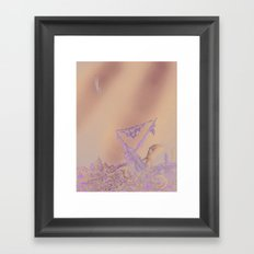 Life of Romantic Adventure Framed Art Print