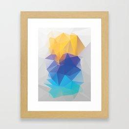 Kontrast Framed Art Print