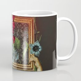 Florales Portrait Disaster Coffee Mug