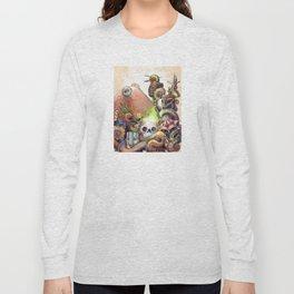 Tiki Octopus Long Sleeve T-shirt