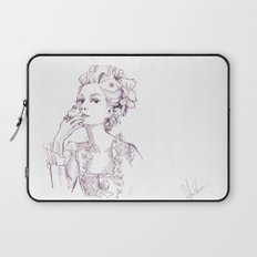 Marie Antoinette - Pen/Ink Laptop Sleeve