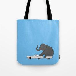 Thunderbird with elephant Tote Bag