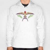 swallow Hoodies featuring Barn Swallow by Berneri