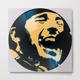 Vinyl No.1 Metal Print