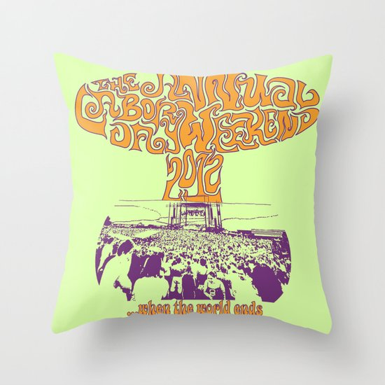 When the World Ends Throw Pillow