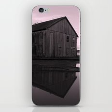 Warehouse Reflection in Pink iPhone & iPod Skin