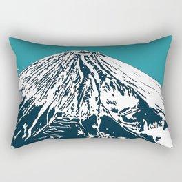 Mount Fuji from the Sky Rectangular Pillow