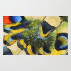 Butterfly wing Rug