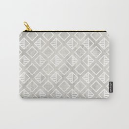 Marble with rhombus Carry-All Pouch