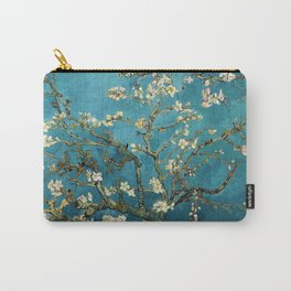 Blossoming Almond Trees, Vincent van Gogh. Famous vintage fine art. Carry-All Pouch