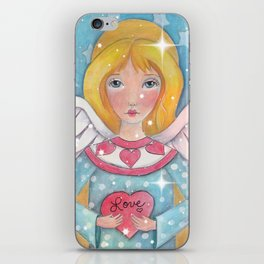 Whimiscal Angel Enhanced iPhone Skin