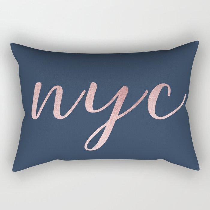 nyc shine Rectangular Pillow