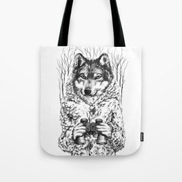 A Wolf in Sheep's Clothing Tote Bag