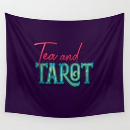 Kelly-Ann Maddox Collection :: Tea and Tarot (Simple) Wall Tapestry