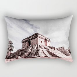 Dzibilchaltun Rectangular Pillow