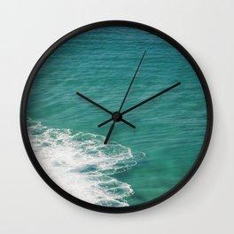 Crystal Clear Ocean View Wall Clock