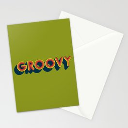 Groovy Stationery Cards