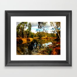 Reflective Light Framed Art Print