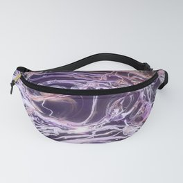 Ultraviolet Jellyfish Fanny Pack